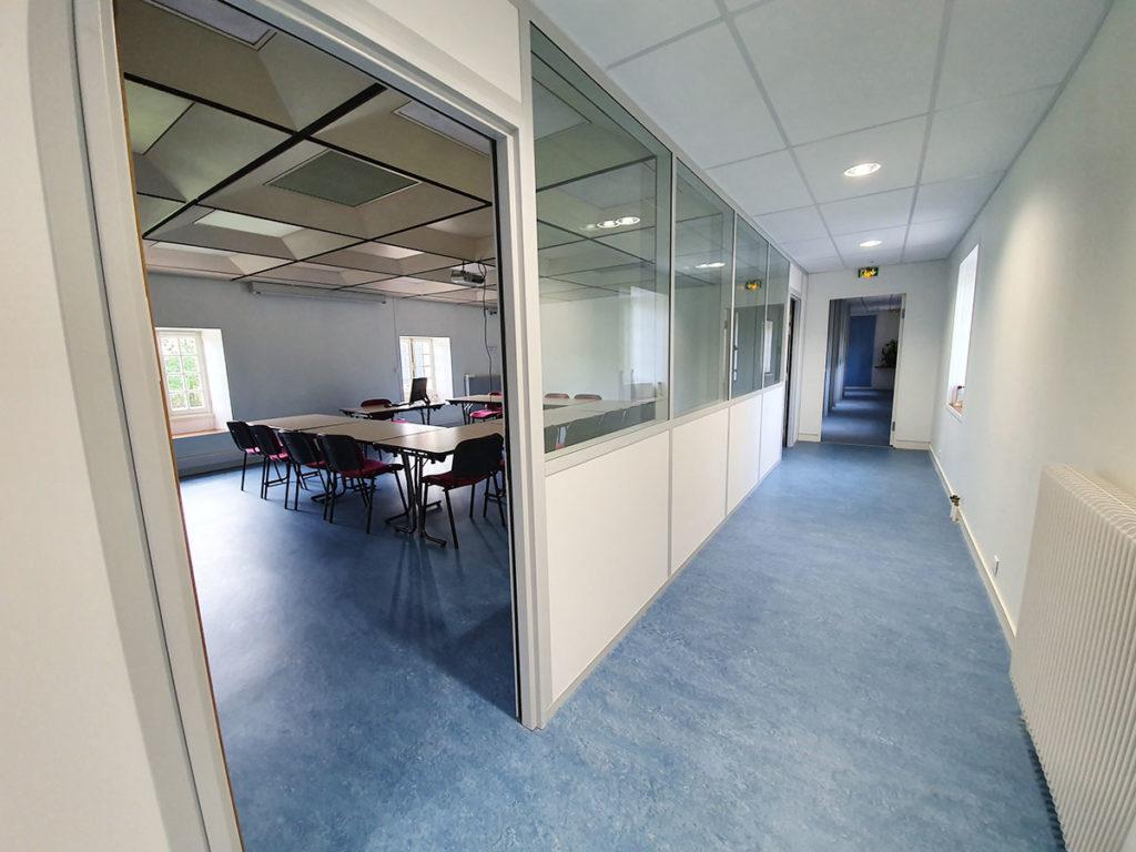 CCI Rochefort et Saintonge – Transformation de bureaux en salles de cours